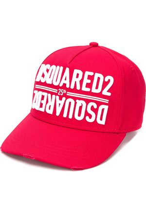 Dsquared2 Men Hats - Logo embroidered cap