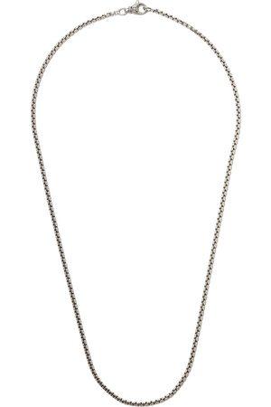 "David Yurman 24"" length small Box Chain necklace - SS"