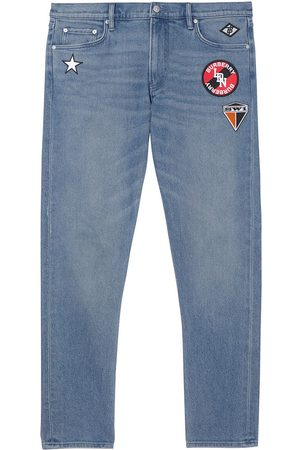 Burberry Patch detail slim jeans