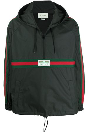 Gucci Label windbreaker jacket