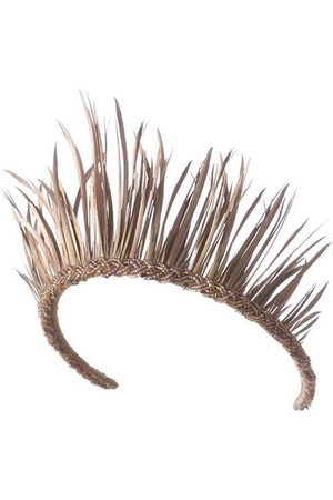 Emily-London Mustique Feather Crown