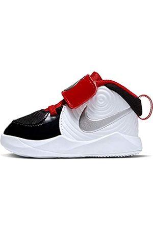 Nike Boys' Team Hustle D 9 Auto (td) Basketball Shoe, /Metallic - -Game Royal