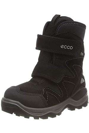 Ecco Unisex Kids' Snow Mountain Boots, Schwarz ( 51052)