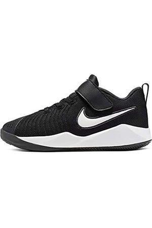 Nike Unisex Kids' Team Hustle Quick 2 (ps) Basketball Shoes, ( / /Anthracite/Volt 2)