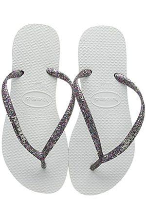 Havaianas Slim Logo Metallic, Women's Flip Flops, ( / / )