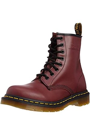 Dr. Martens Unisex Adults 1460 Ankle Boots, (Cherry Smooth)