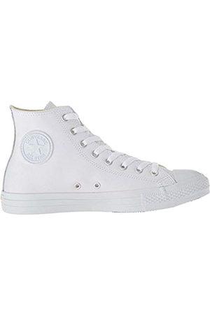 Converse Unisex Adults' Chuck Taylor Ct A/s Lthr Hi Low-Top Sneakers, ( Monochrome 100)