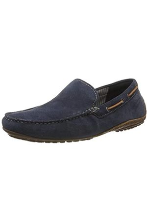 Sioux Men Loafers - Men's Callimo Loafers, (Indaco/Cognac 008)