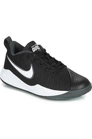 Nike Unisex Kids' Team Hustle Quick 2 (gs) Basketball Shoes, ( / /Anthracite/Volt 2)