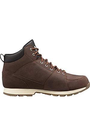 Helly Hansen Men's Tsuga High Rise Hiking Shoes, (Brunette/Jet /NAT 708)