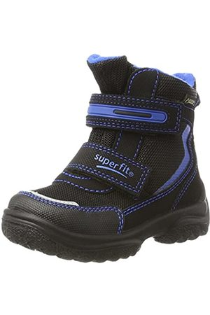 Superfit Boys Snow Boots - Boys' Snowcat Snow Boots, (Schwarz Kombi 02)