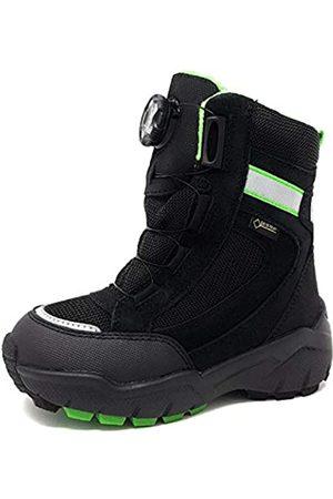 Superfit Boys Snow Boots - Boys' Culusuk 2.0 Snow Boots, (Schwarz/Grün 01)