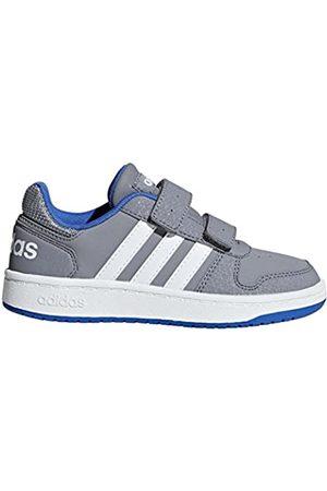 adidas Unisex Kids' Hoops 2.0 CMF Basketball Shoes, ( /Ftwwht/ /Ftwwht/ )