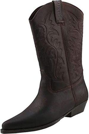 Dockers Men's 43bl001 Cowboy Boots, (Dunkelbraun 380)