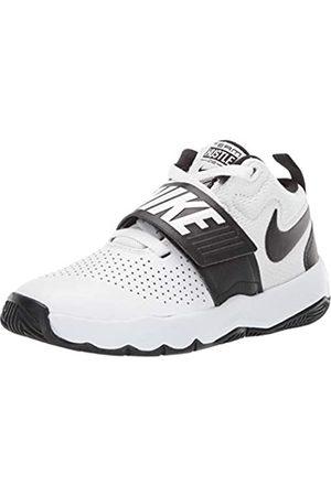 Nike Boys' Team Hustle D 8 (Ps) Basketball Shoes, Off (Whiteblack)