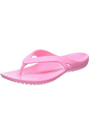 Crocs Women's Kadee II Flip Flops, ( Lemonade 669)
