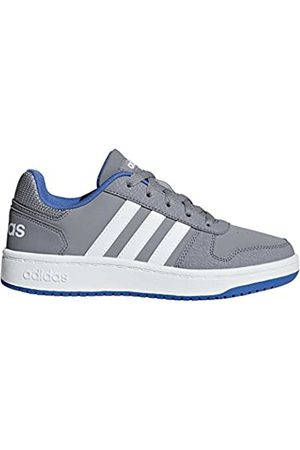 adidas Unisex Kids' Hoops 2.0 Basketball Shoes, ( /Ftwwht/ /Ftwwht/ )