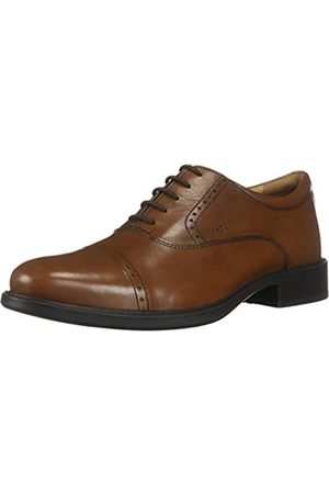 Geox Men's Uomo Carnaby A Oxfords, (Cognac C6001)