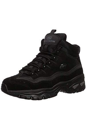Skechers Women's Energy Ankle Boots, ( Leather/Mesh BBK)