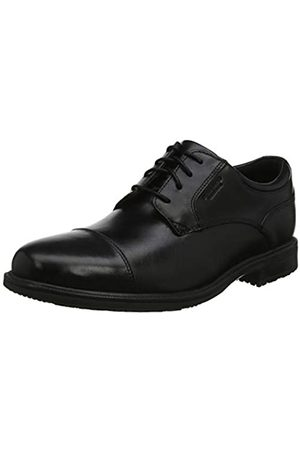 Rockport Men's Esntial Dtlii Captoe Lea Oxfords, ( 001)