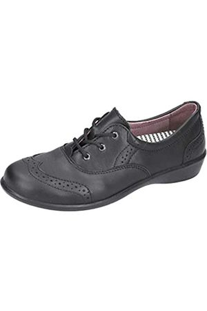 Ricosta Girls' Kate Brogues, (Schwarz 090)