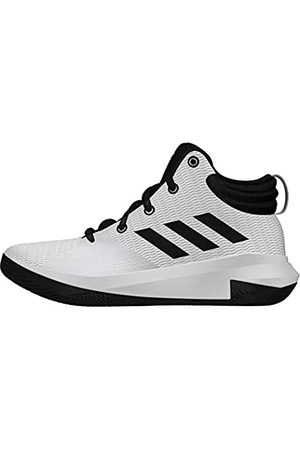 adidas Unisex Kids' Pro Elevate Basketball Shoes, (Ftwwht/Cblack/Ftwwht Ftwwht/Cblack/Ftwwht)