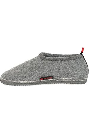 Giesswein Slipper Tambach 38 - Closed Felt Slippers for Men & Women, Changeable Footbed, Warm Unisex House Shoe, Mules, Comfortable Slippers with Flexible Sole, Non-Slip