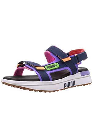 Puma Unisex Adults' Rider Sandal Game ON Beach and Pool Shoes, (Luminous -Dark Denim 03)