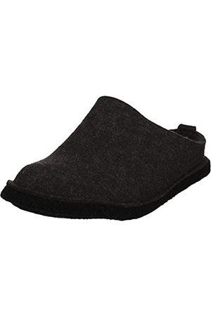 Haflinger Slippers - Flair Soft, Unisex Adult Unlined Slippers, Gray (Gray / Graphite)