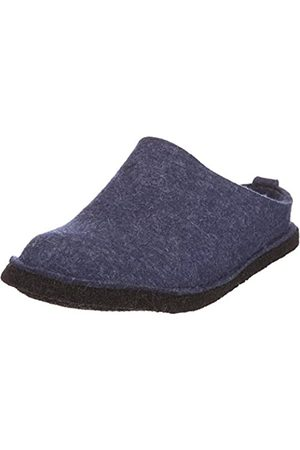 Haflinger Slippers - Flair Soft, Unisex Adults' Open Back Slipper, ( / Jeans)