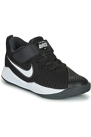 Nike Boys Shoes - Unisex Kids' Team Hustle Quick 2 (ps) Basketball Shoes, (Game Royal/ /Wolf 400)