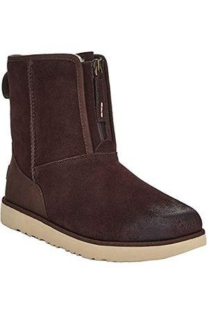 UGG Men's M Classic Short Front Zip WP Boots, (Stout STT)