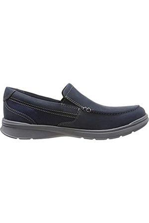 Clarks Men's Cotrell Easy Loafers, (Navy Combi Navy Combi)