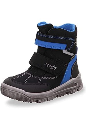 Superfit Mars, Boys'Snow Boots, (Schwarz/Blau 00)