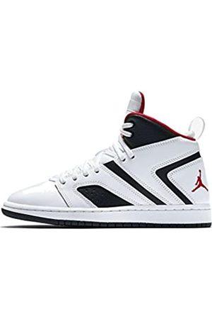 Nike Boys' Jordan Flight Legend Bg Basketball Shoes, (Weiß/Rot 112)