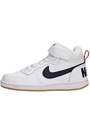 Nike Court Borough Mid (Ps), Boy's Hi-Top Basketball Shoes, Multicoloured ( /Obsidian-University 107)