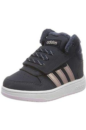 adidas Unisex Kids' Hoops Mid 2.0 Basketball Shoes, (Legink/Vagrme/Trablu Legink/Vagrme/Trablu)