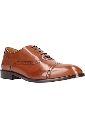 Geox Men's U Saymore A Oxfords, (Cognac C6001)