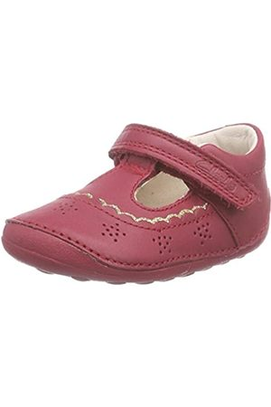 Clarks Girls' Little Ida Brogues, Violet (Berry Leather)