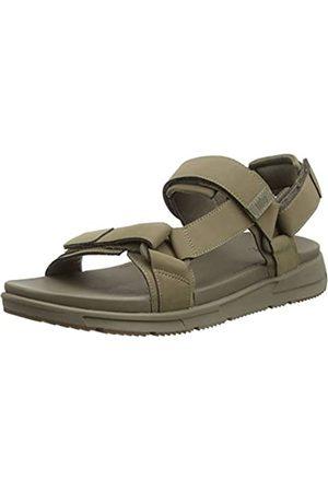 FitFlop Men's Sporty Back-Strap Sandals Flip Flops, (Timberwolf 326)