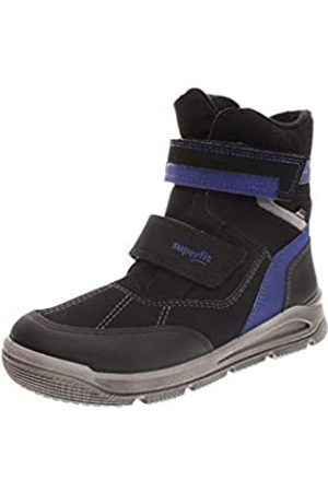 Superfit Mars, Boys'Snow Boots, (Schwarz/Blau 01)