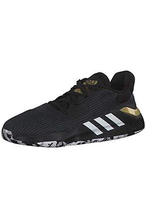 adidas Boys' Pro Bounce 2019 Low Basketball Shoes, (Negbás/Ftwbla/Dormet 000)