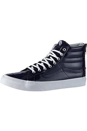 Vans Sk8-hi Slim Zip, Unisex Adults' Hi-Top Sneakers, (tumble Patent/peacoat)
