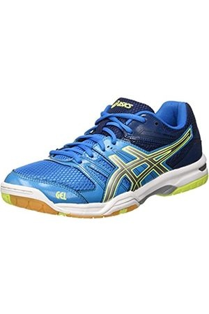 Asics Men's Gel-Rocket 7 Volleyball Shoes, Multicolor ( Jewel/Glacier /Safety )