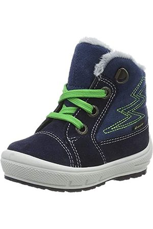 Superfit Boys' Groovy Snow Boots, (Blau 80)