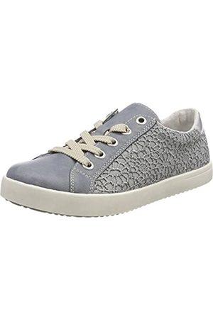 Rieker Kinder Girls' K5205 Low-Top Sneakers, (Adria/Jeans)
