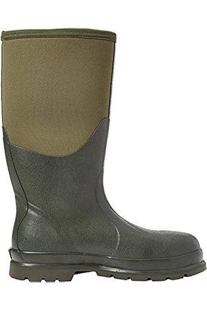 Muck Unisex Adults' Chore Steel Toe Safety Wellingtons, (Moss Stmg)