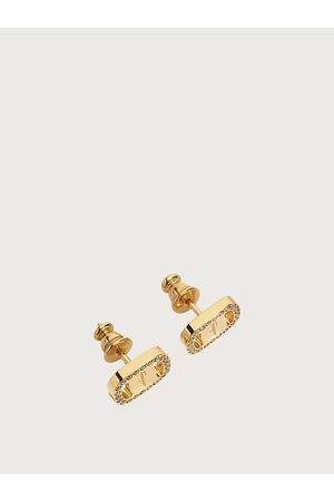 Salvatore Ferragamo Women Small Vara Plate Earrings