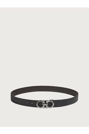 Salvatore Ferragamo Men Adjustable and reversible Gancini belt
