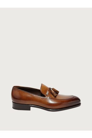 Salvatore Ferragamo Men Tassel loafer Size 7